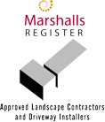 Marshalls Register of approved landscape contractors and driveway installers